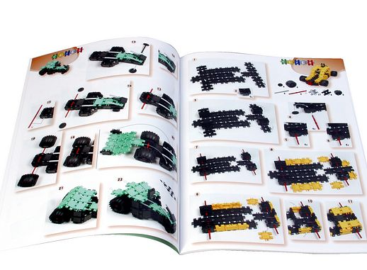 Toy Links CP005 Clics Building Plans Book - Level 3