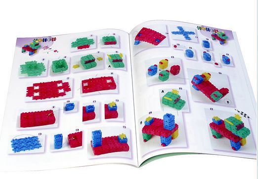 Toy Links CP006 Glittering Clics Building Plans Book