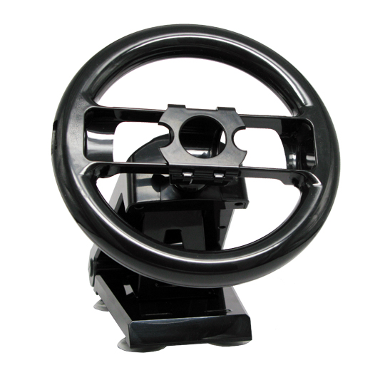 CET Domain 10300109 New Steering Wheel Stand for Nintendo Wii Racing Game