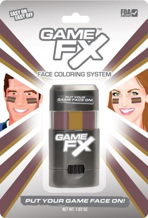 GameFace, Inc. 00227 GameFX - SKU51 - Burgundy 504 - Gold 125 - Burgundy 504 - Pack of 3