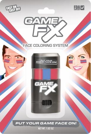 GameFace, Inc. 00256 GameFX - SKU19 - Red 186 - Blue 279 - Red 186 - Pack of 3