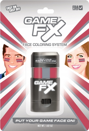GameFace, Inc. 00262 GameFX - SKU17 - Red 200 - Grey 429 - Red 200 - Pack of 3