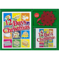 Twin Sisters Productions TW176CD Twelve Days of Christmas Book / CD / Ornament Boxed Set