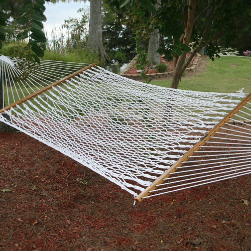 Pawleys Island 13OP The Original Large Polyester Rope Hammock