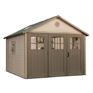 Lifetime 6417 Lifetime 11 ft Shed with 9 ft TriFold Doors