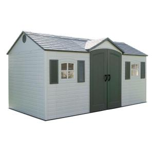 Lifetime 6446 Lifetime 6446 Side-Entry Garden Storage Shed 15 x 8 ft