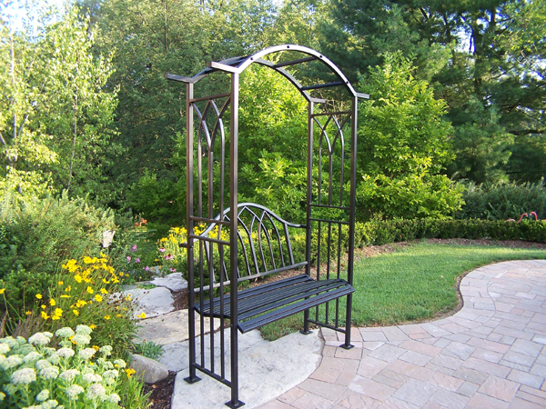 Oakland Living Corporation 5018BK Royal Arbor With Bench