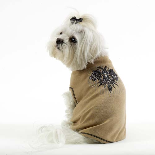 A Pets World 17010511-LG Dog T shirt--Lion s Head