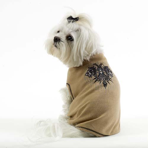 A Pets World 17010511-SM Dog T shirt--Lion s Head