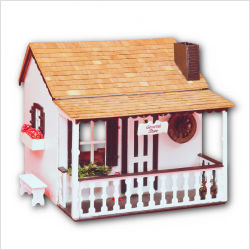 Greenleaf 2802 Adams Doll House - Unfinished Woo