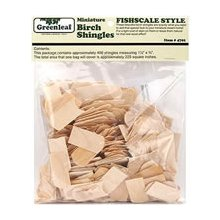 Greenleaf 4701 Fishcale Shingles Dollhouse Accessories