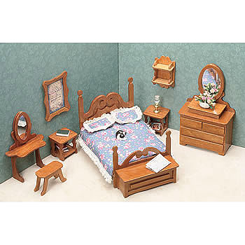Greenleaf 7201 Bedroom Dollhouse Furniture Kit