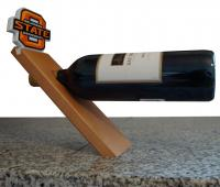 Adventure Furniture C0540-OK State OK State University Floating Bottle Stand