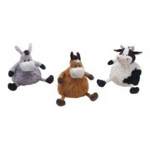 Ethical Dog 5644 Multi Plush Puffer Bellies Asst 10Inch BCI37755
