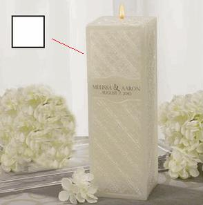 Beverly Clark 10-2473/W Pillar - Embossed