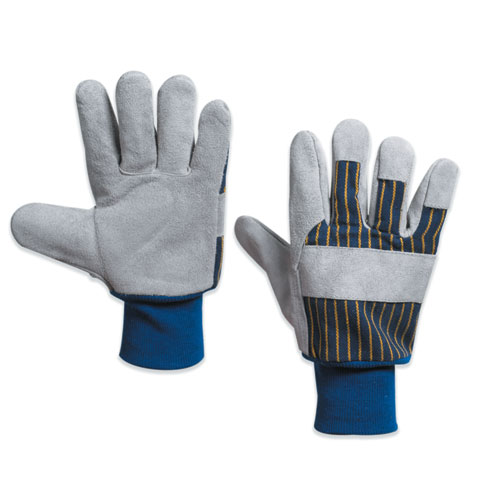 Box Partners GLV1020L Leather Palm with Knit Wrist Gloves