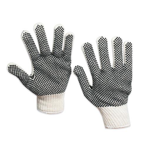 Box Partners GLV1011L PVC Dot Knit Gloves