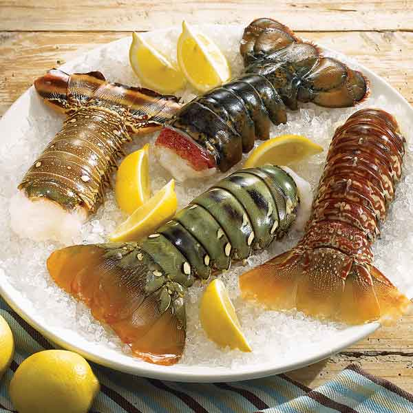 Lobster Gram ATWTS2 AROUND THE WORLD TAIL SAMPLER WITH 8 LOBSTER TAILS