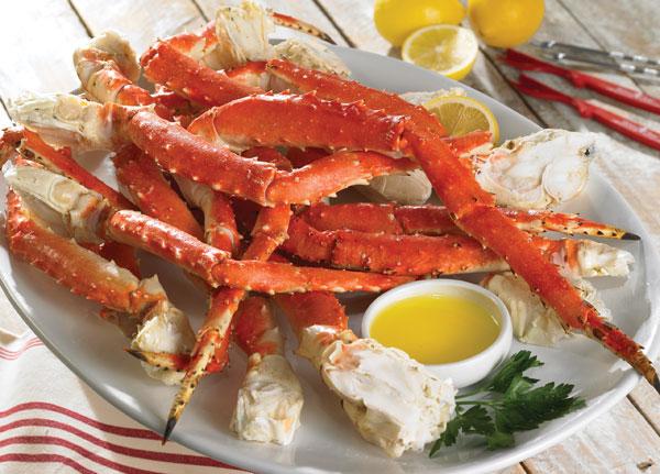 Lobster Gram KING4 4 LBS OF ALASKAN KING CRAB LEGS