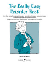 Alfred 12-057151037X The Really Easy Recorder Book - Music Book