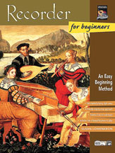 Alfred 00-19408 Recorder for Beginners - Music Book