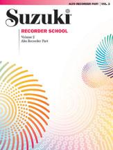 Alfred 00-0558S Suzuki Recorder School- Alto Recorder Recorder Part- Volume 2 - Music Book