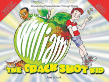 Alfred 55-9704A William the Crack Shot Kid - Music Book
