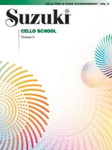 Alfred 00-0365S Suzuki Cello School Cello Part- Volume 9- includes Piano Acc. - Music Book