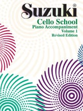 Alfred 00-0480S Suzuki Cello School Piano Acc.- Volume 1 - Music Book