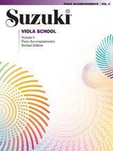 Alfred 00-0492S Suzuki Viola School Piano Acc.- Volume 6 - Music Book