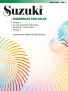 Alfred 00-0296S Ensembles for Cello- Volume 1 - Music Book
