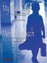 Alfred 00-19640X My Trio Book- Mein Trio-Buch- Suzuki Violin Volumes 1-2 arranged for three violins - Music Book