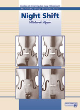 Alfred 00-16838 Night Shift - Music Book