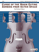 Alfred 00-20590 Curse of the Rosin Eating Zombies from Outer Space - Music Book
