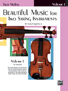 Alfred 00-EL02200 Beautiful Music for Two String Instruments- Book I - Music Book