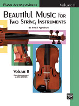 Alfred 00-EL02211 Beautiful Music for Two String Instruments- Book II - Music Book