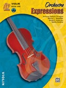 Alfred 00-EMCO1002CD Orchestra Expressionso- Book One- Student Edition - Music Book