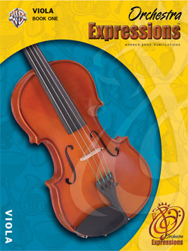Alfred 00-EMCO1003CD Orchestra Expressionso- Book One- Student Edition - Music Book