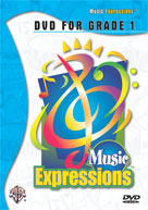 Alfred 00-EMC1001DVD Music Expressionso Grade 1- DVD - Music Book