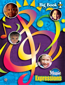 Alfred 00-EMC1002 Music Expressionso Grade 1- Big Book - Music Book
