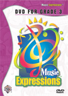 Alfred 00-EMC3001DVD Music Expressionso Grade 3- DVD - Music Book