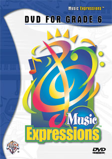 Alfred 00-EMC6001DVD Music Expressionso Grade 6- Middle School 1- DVD - Music Book