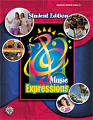 Alfred 00-EMC6002 Music Expressionso Grade 6- Middle School 1- Student Edition - Music Book