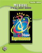Alfred 00-EMC6012S Music Expressionso Grade 6- Middle School 1- Musical- It s All About Music- Student Edition - Music Book