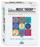 Alfred 00-20864 Essentials of Music Theory- Software- Version 2.0 CD-ROM Lab Pack- Volumes 2 & 3 - Music Book