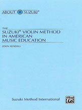 Alfred 00-0280 The Suzuki Violin Method in American Music Education - Music Book