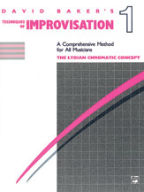 Alfred 00-2753 Techniques of Improvisation- Volume 1- The Lydian Chromatic Concept - Music Book