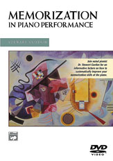 Alfred 00-22559 Memorization in Piano Performance - Music Book