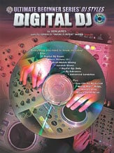 Alfred 00-0671B Ultimate Beginner Series DJ Styles Series- Digital DJ - Music Book