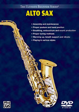 Alfred 00-903367 Ultimate Beginner Series- Alto Saxophone- Volumes I & II - Music Book